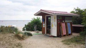 Hundestrand Timmendorfer Strand Strandkorbverleih