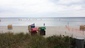 Hundestrand Timmendorfer Strand Strandkörbe